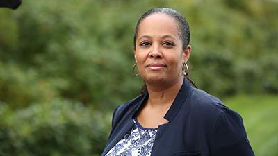 Portrait of Kimberly Johnson